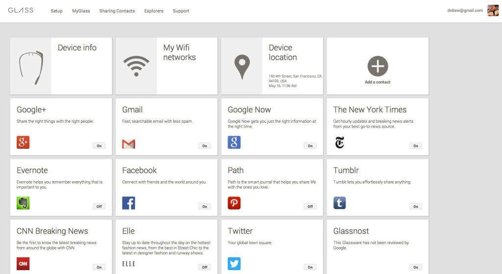 Facebook, Twitter, Evernote und mehr: Viele Google Glass Apps angekündigt