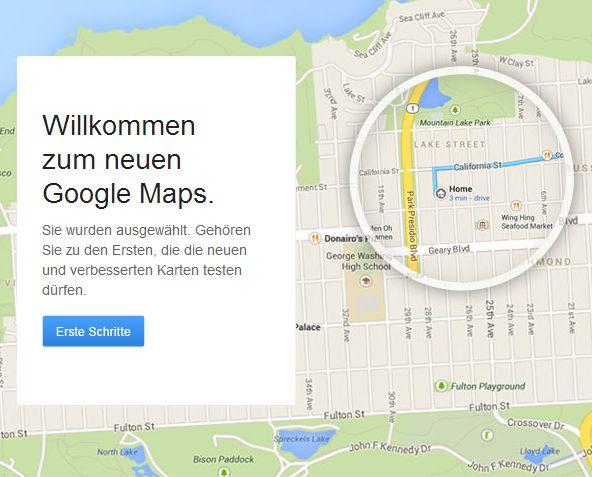 Das neue 'persönliche' Google Maps ist da