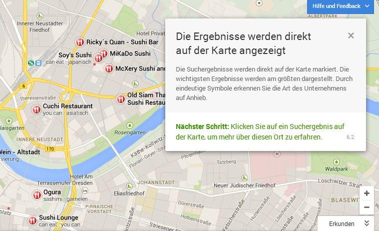 Google Maps Neu 06 Das neue persönliche Google Maps ist da