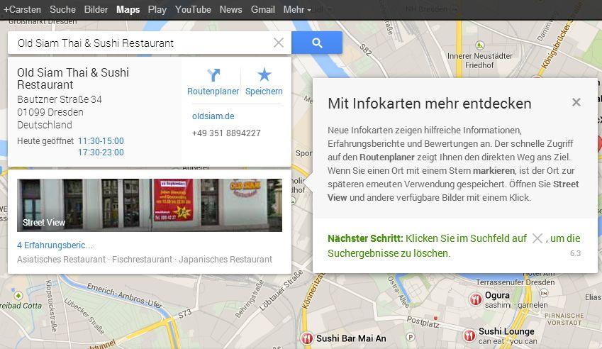 Google Maps Neu 07 Das neue persönliche Google Maps ist da