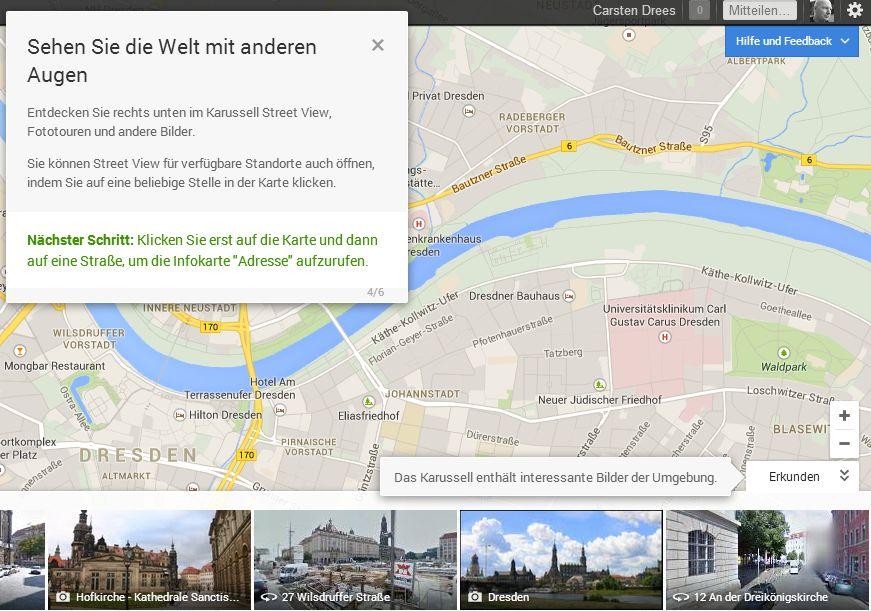 Google Maps Neu 08 Das neue persönliche Google Maps ist da