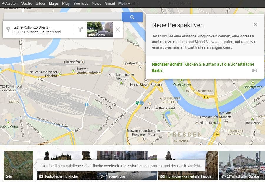 Google Maps Neu 09 Das neue persönliche Google Maps ist da