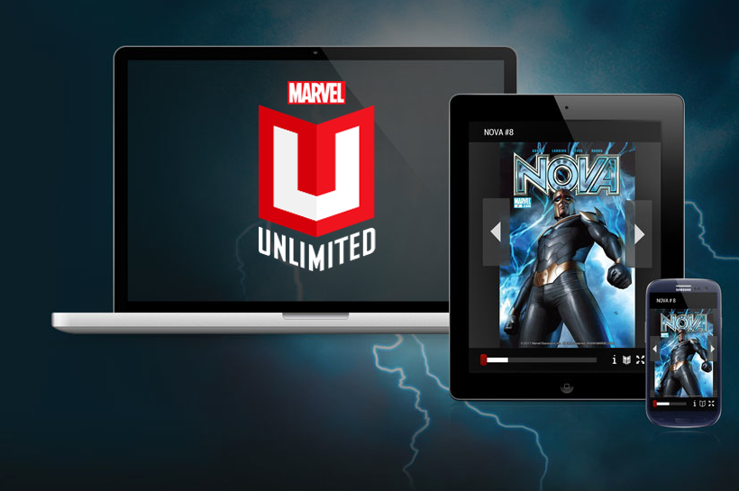 Comics im Abo: Marvel Unlimited für Android
