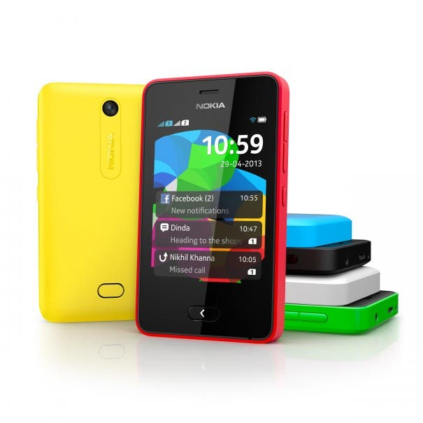 Nokia Asha 501 Colours 605x605 Facebook und Nokia kooperieren   Kostenloser Facebook Zugang fuer Nokia Asha 501 User!