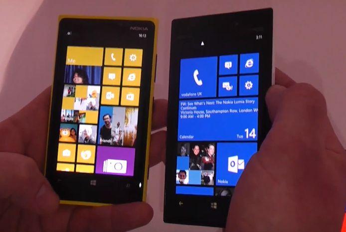 Nokia Lumia 928 und Lumia 920 im direkten Vergleich