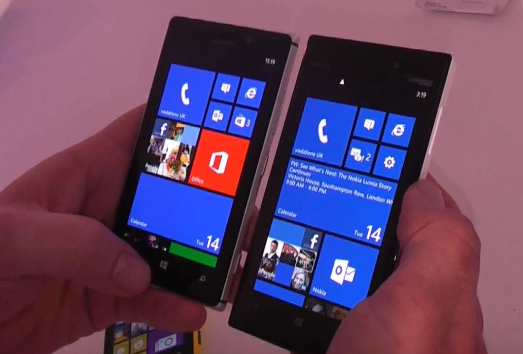 Nokia Lumia 925 und Lumia 928 im direkten Vergleich