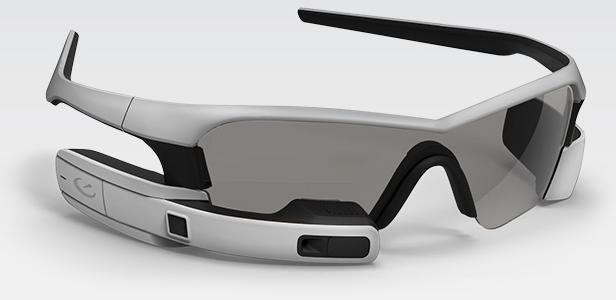 "Recon Jet Glasses ""Eyes On"" – Google I/O 2013"