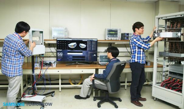 Samsung 5G 605x360 Einführung bis 2020: Samsung testet 5G Netz