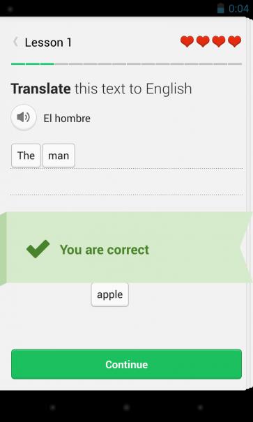Duolingo App Design