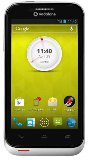 Vodafone Smart III: Einsteiger-Smartphone für 88 Euro