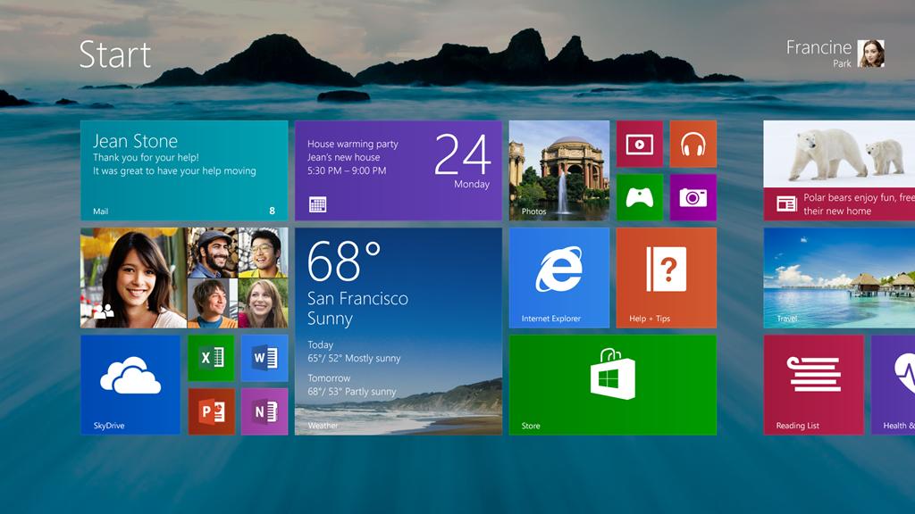 """Windows 8.1 """"Blue"""": Microsoft verrät Details zu Startknopf, Startscreen und anderen Neuerungen"""