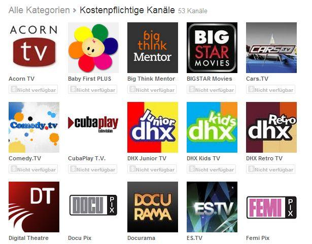 Über 50 Programme: YouTube führt Bezahl-Kanäle ein