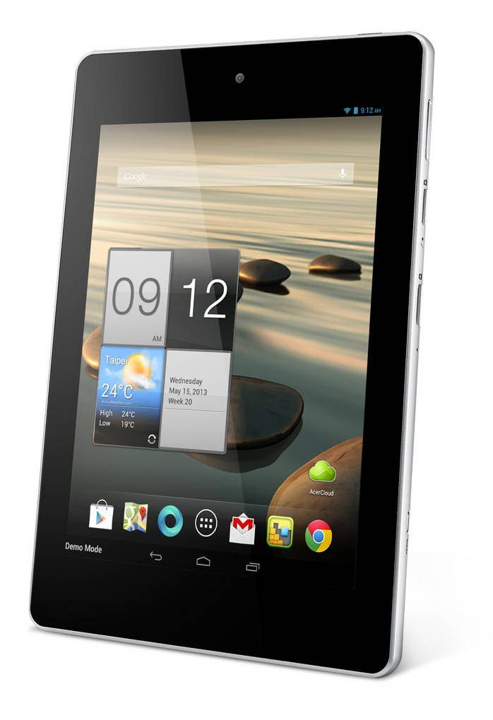 Acer Iconia Tab A1 macht Nexus 7, iPad Mini & Co ab Juni für 169 Euro Konkurrenz