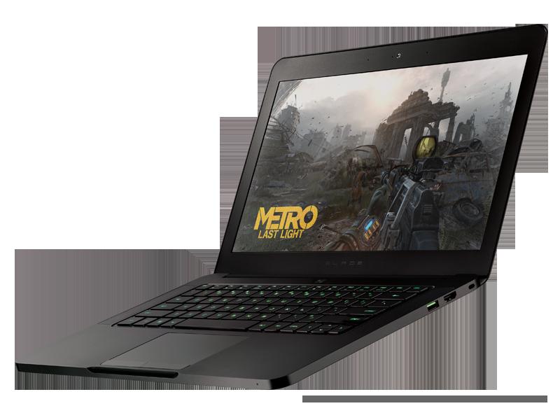 """Razer Blade – Dünnstes & stärkstes 14-Zoll-Notebook der Welt – Intel """"Haswell"""" & GeForce GTX 765M bei nur 16,8mm Höhe"""