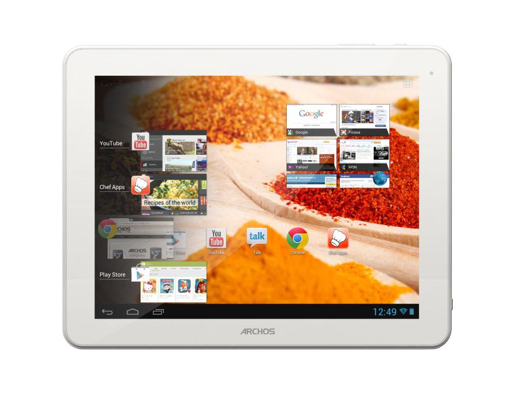 Mahlzeit – Archos präsentiert das ChefPad als Tablet für Hobbyköche
