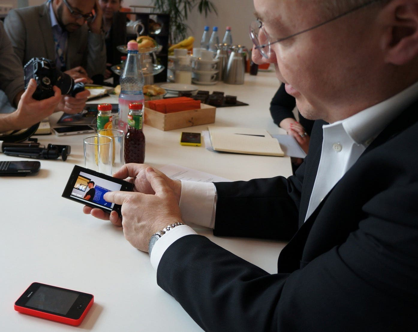 elop demo Nokia Chef: Top Features gehen bei Windows Phone vor Detail Funktionen