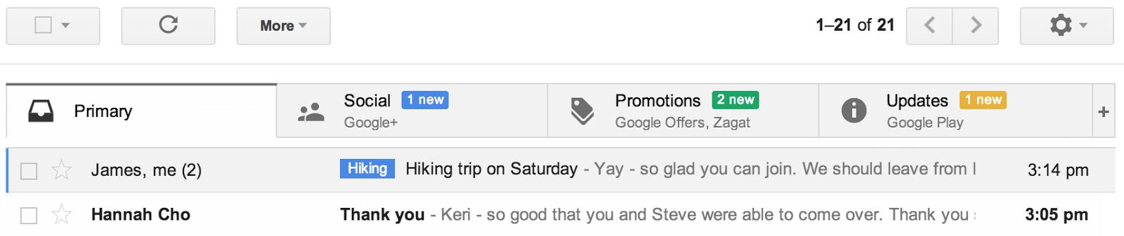 Gmail bekommt neues Design mit Tabs – Update: Jetzt fuer alle!