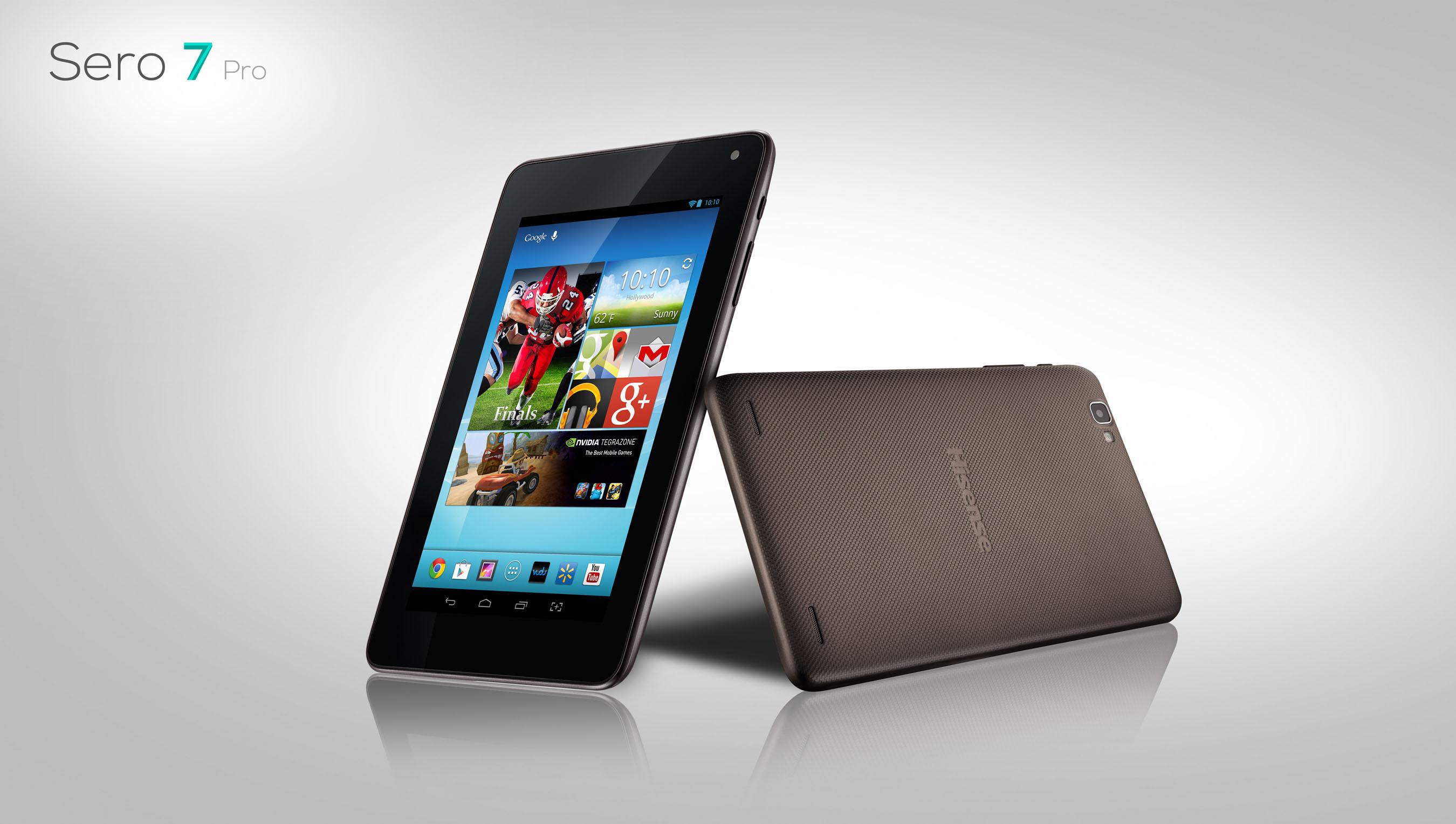 HiSense Sero 7 PRO 7inch Tablet mit HD-Display & Tegra 3 Quadcore für 149 Dollar bei Wal-Mart