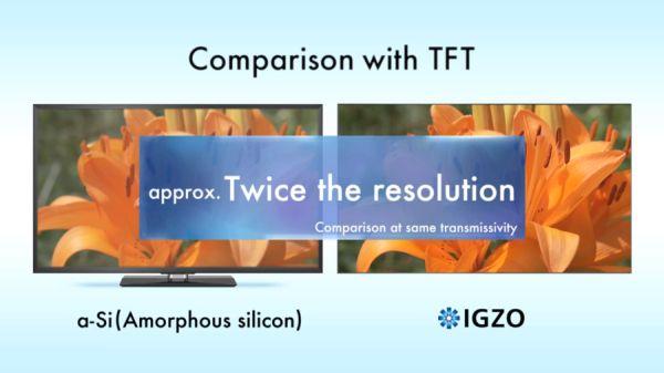 Sharp will IGZO-Displays für Notebooks mit bis zu 3200×1800 Pixeln anbieten