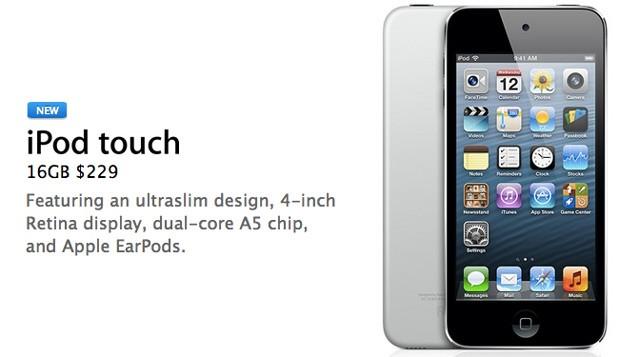 Apple stellt neuen iPod Touch vor – Keine Rearcam und 16GB Speicher!