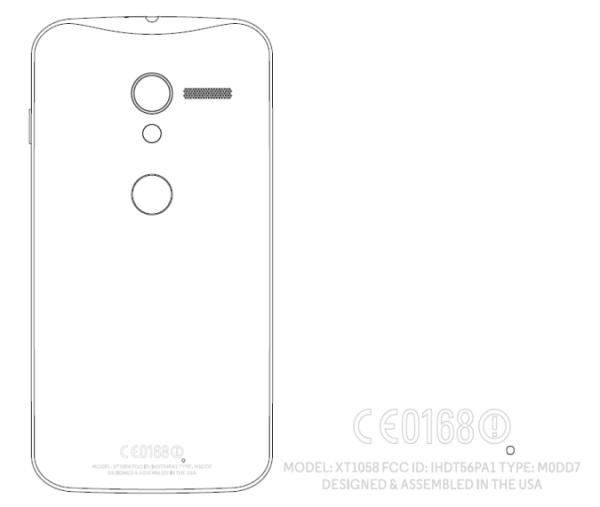 Motorola XFON: Smartphone im Nexus-Design taucht bei FCC auf