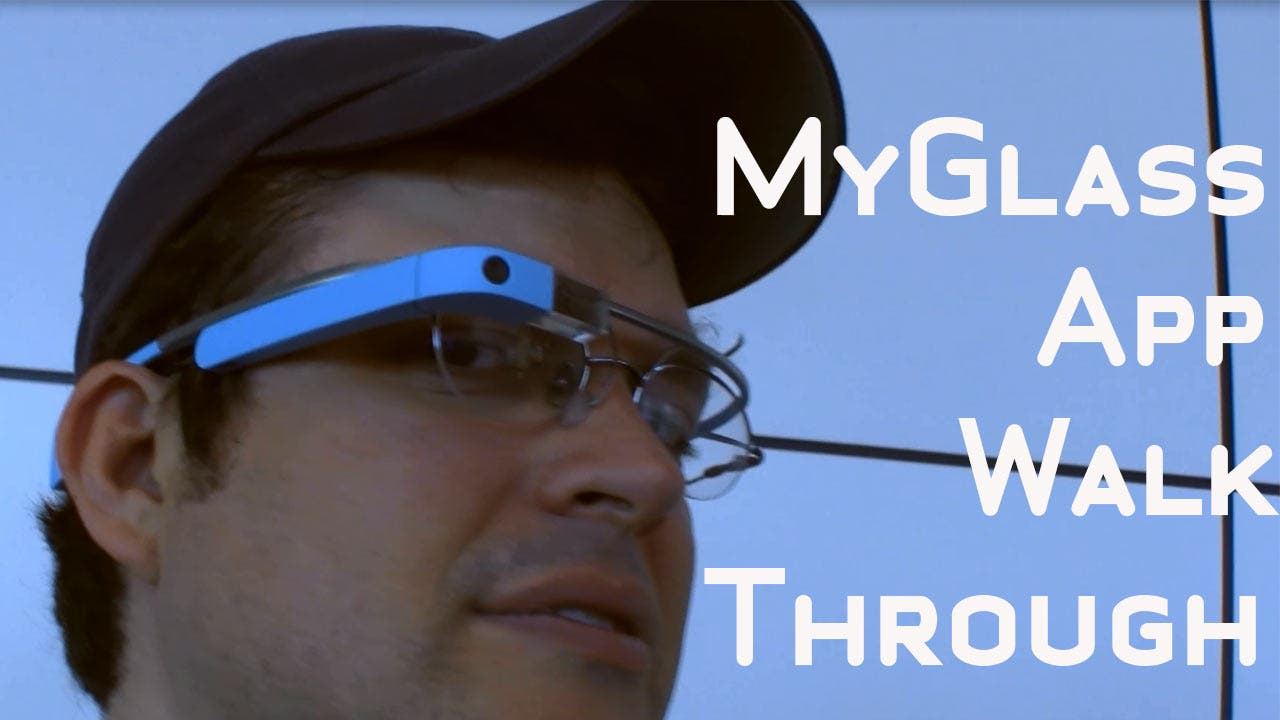 Google Glass Kurztest auf der Google I/O 2013 [Video]