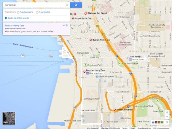 new google maps 2 Google Maps erhaelt ein neues Design   Screenshot geleakt