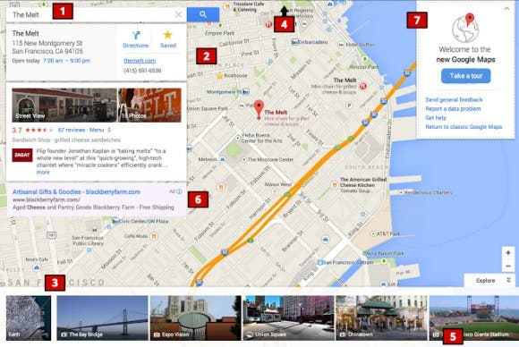 new google maps Google Maps erhaelt ein neues Design   Screenshot geleakt