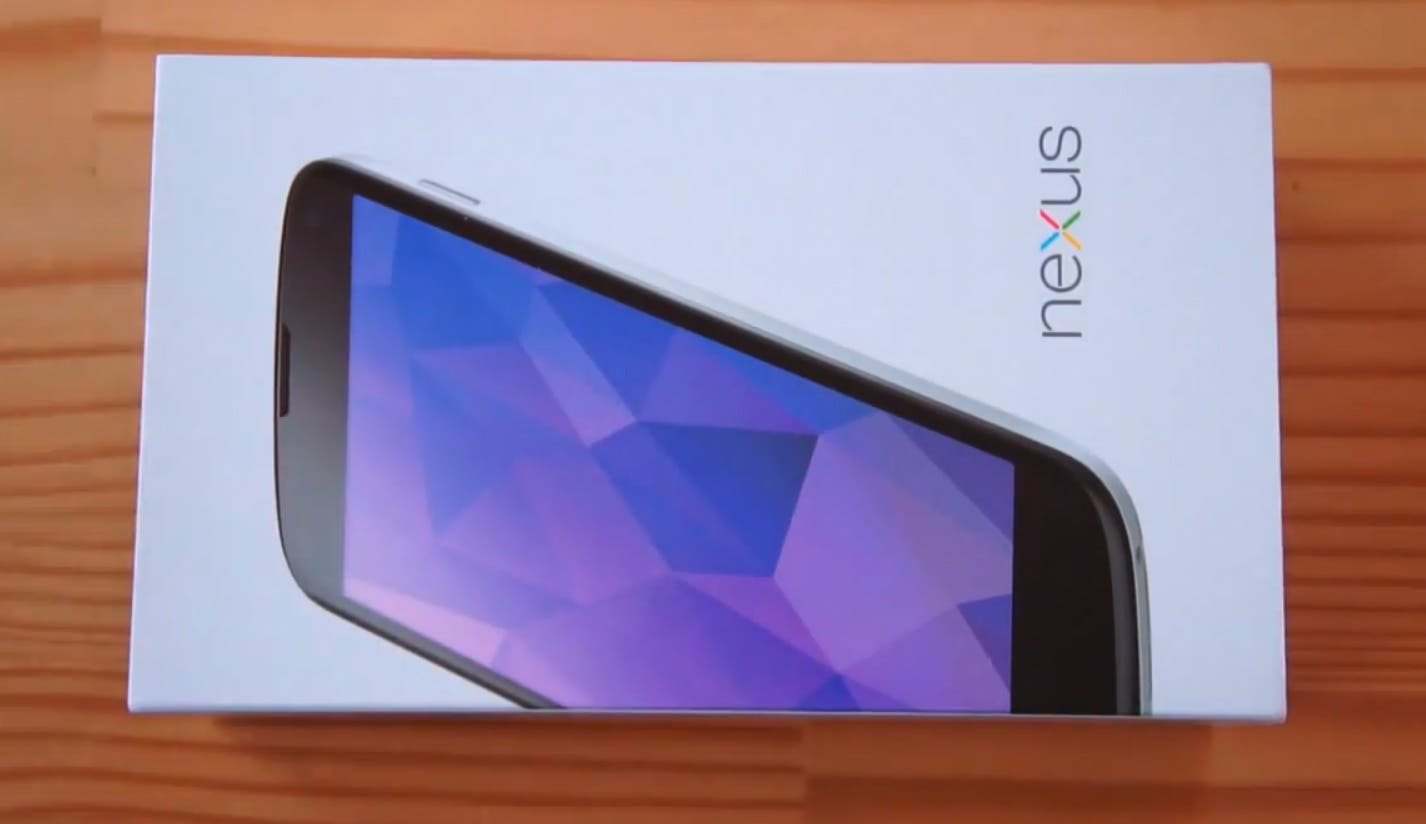 Video: Weißes LG Nexus 4 im Unboxing