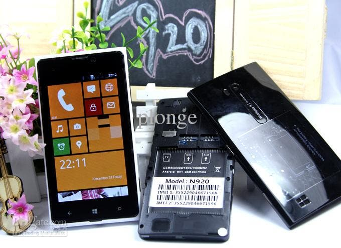 Android-basierter Klon des Nokia Lumia 920 im Windows Phone-Look für nur 60 Dollar erhältlich