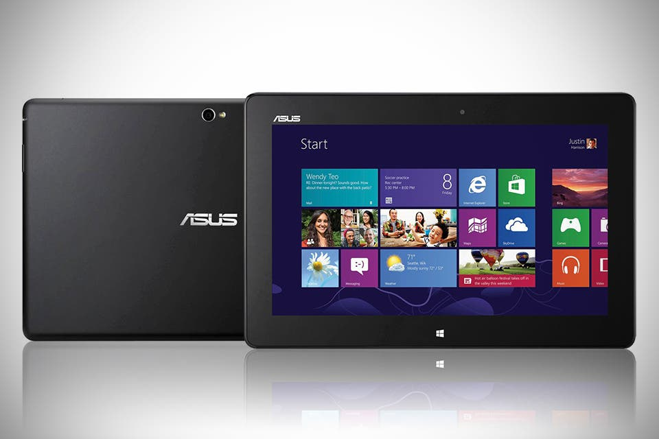 ASUS: Guenstiges Windows 8 Tablet mit 8-inch Display kommt im August