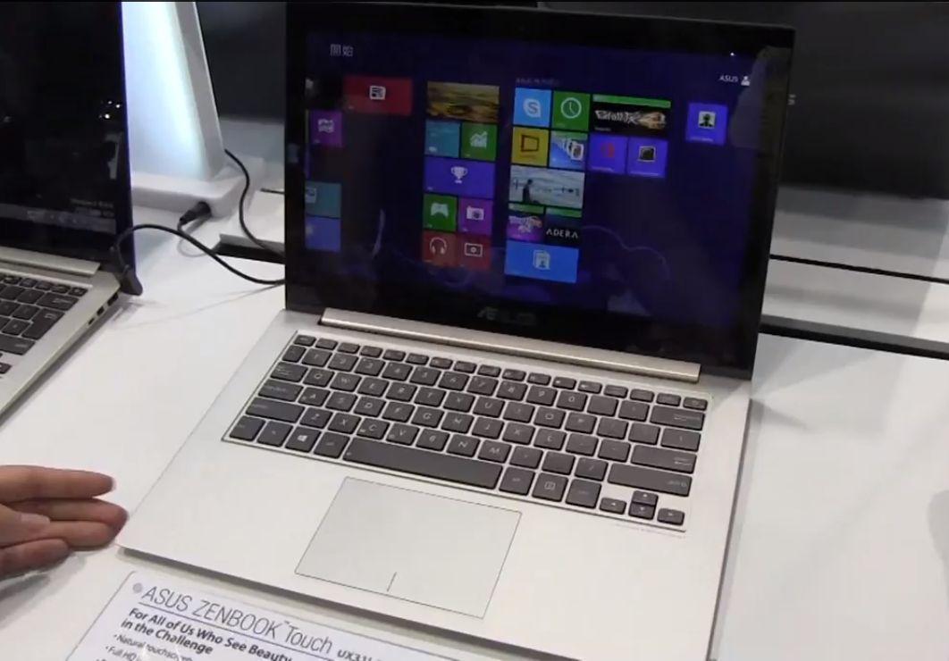 Computex: ASUS Zenbook UX31 LA mit Haswell CPU im Hands-on