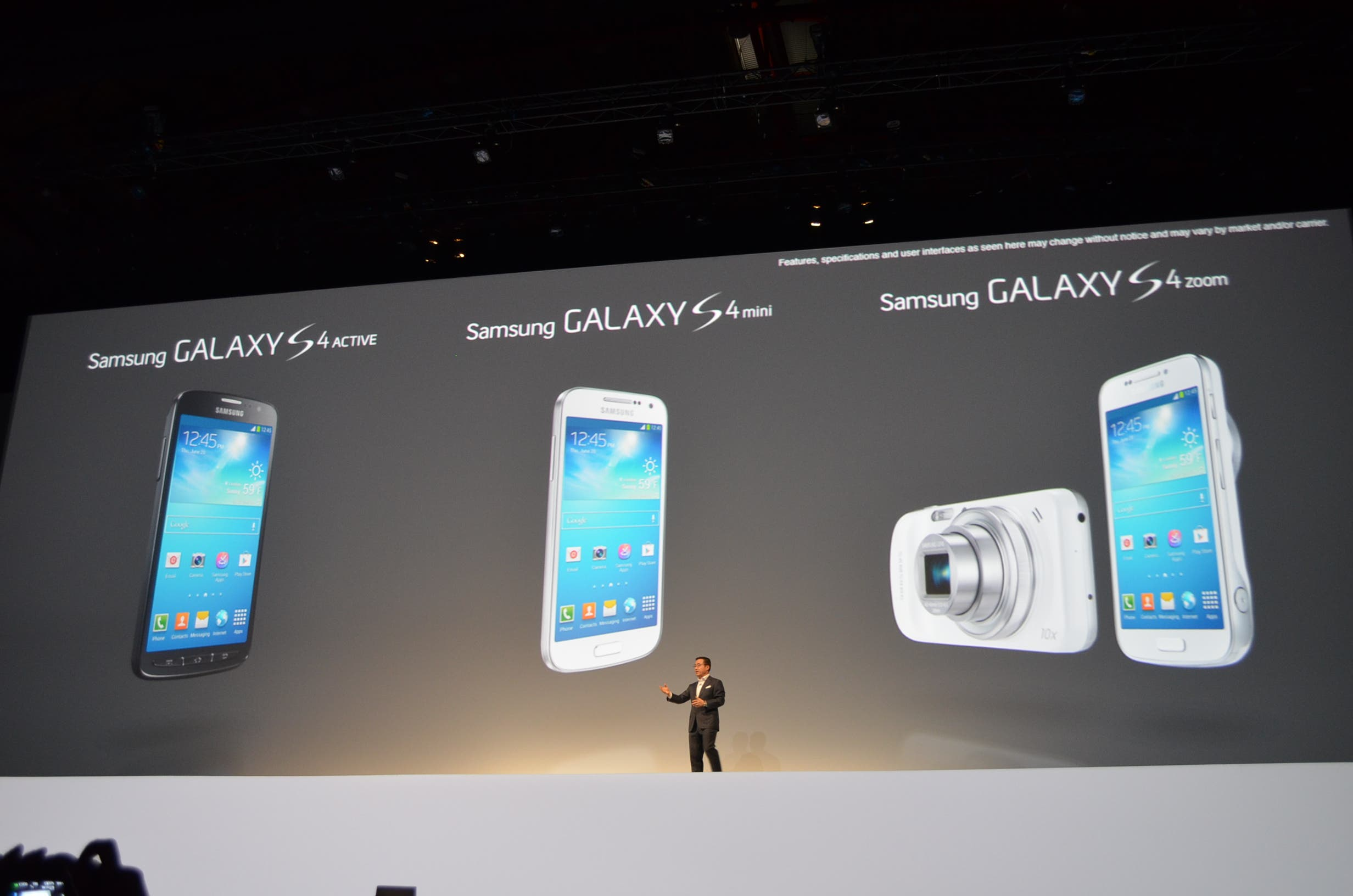 Samsung Galaxy S Lineup