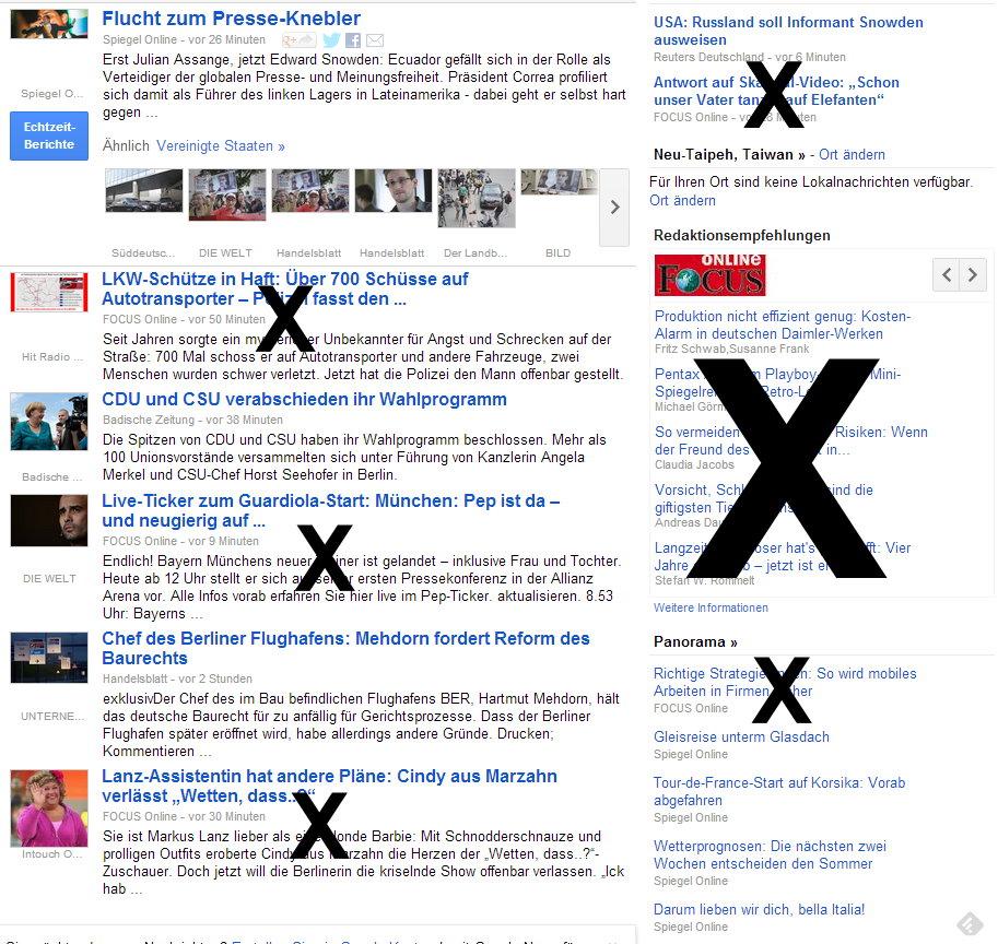 Focus Google News
