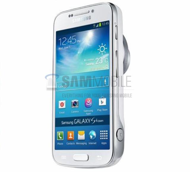 Erste Fotos: Samsung Galaxy S4 Zoom – oder eher Galaxy S4 mini Zoom