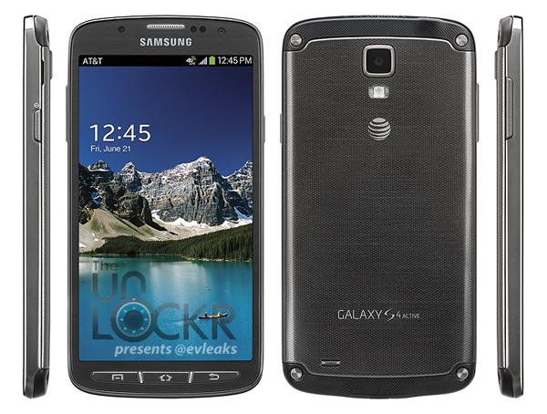 Samsung Galaxy S4 Active in Grau und Hellblau aufgetaucht