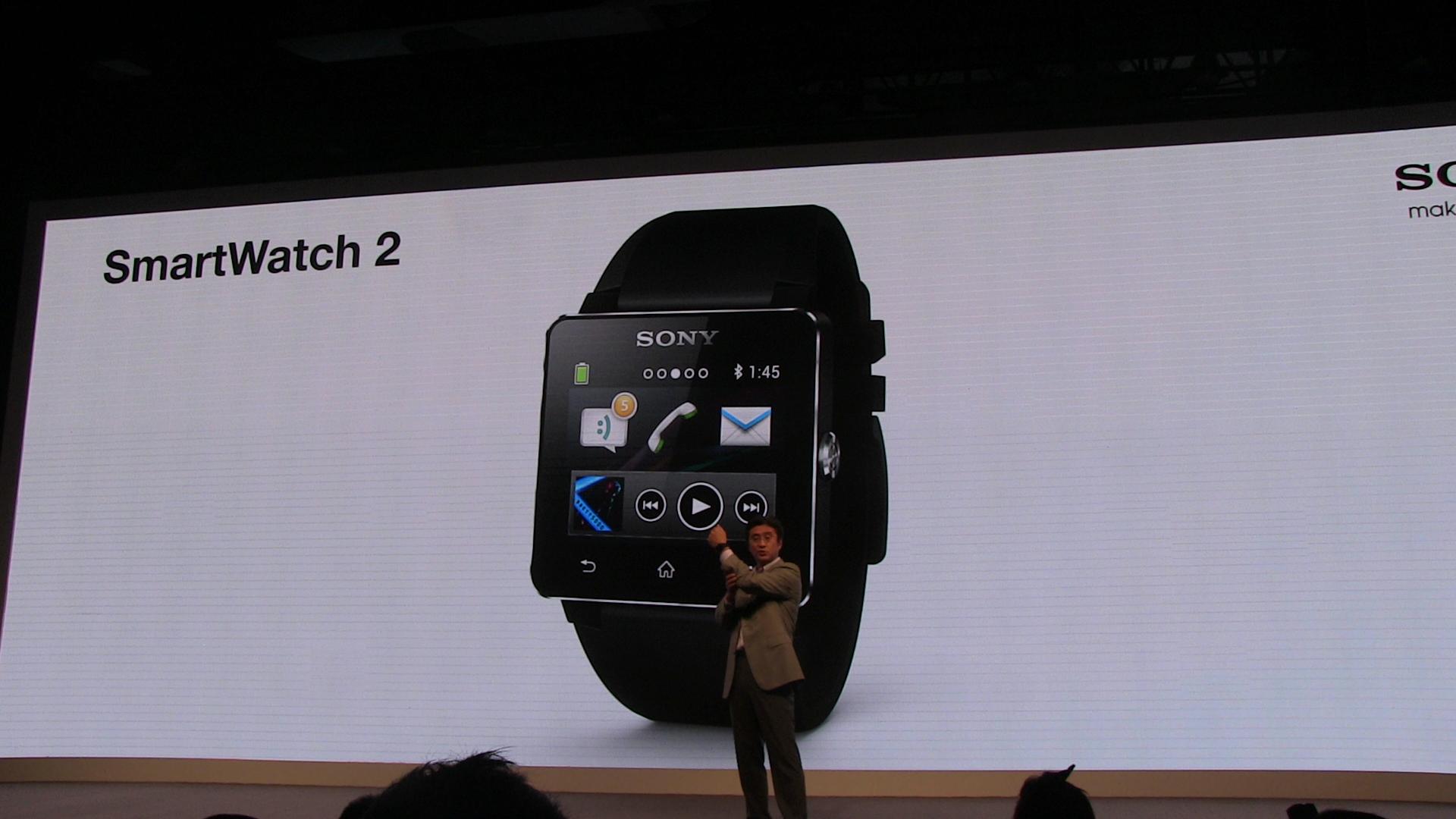 Sony Smartwatch 2 offiziell vorgestellt, kommt für 199 Euro *Update: Video*