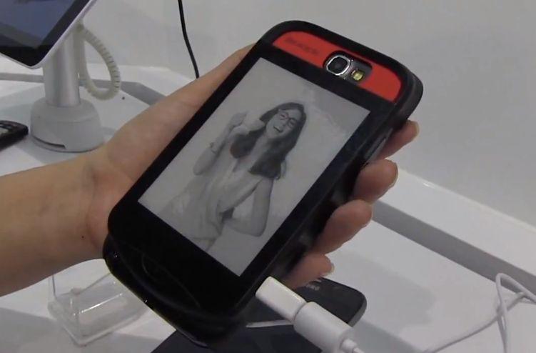 Computex: InkCase – Schutzhülle mit E-Ink-Display für Galaxy Note 2, Galaxy S4 und iPhone 5