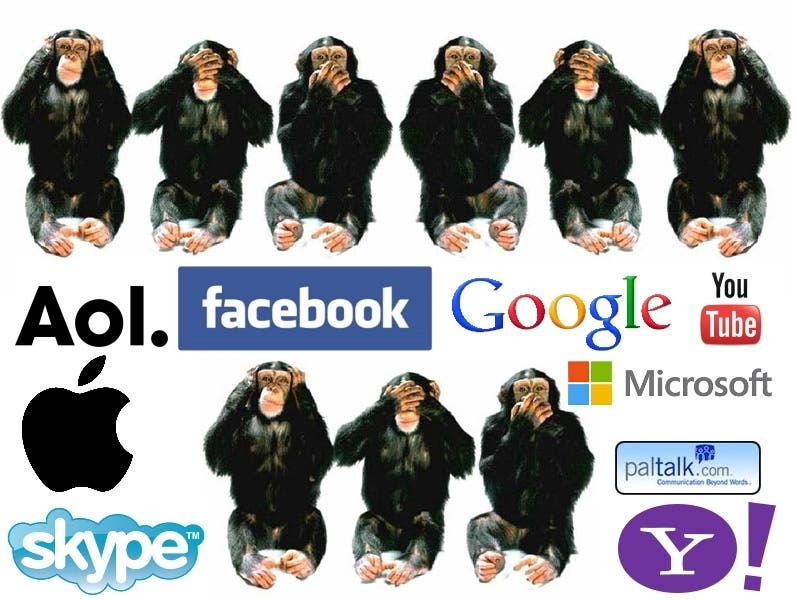 NSA PRISM NSA PRISM: Apple, Facebook und Google verschleiern die Wahrheit!