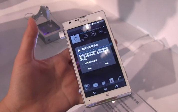 Sony Xperia SP M35t: Smartphone für China im Hands-on