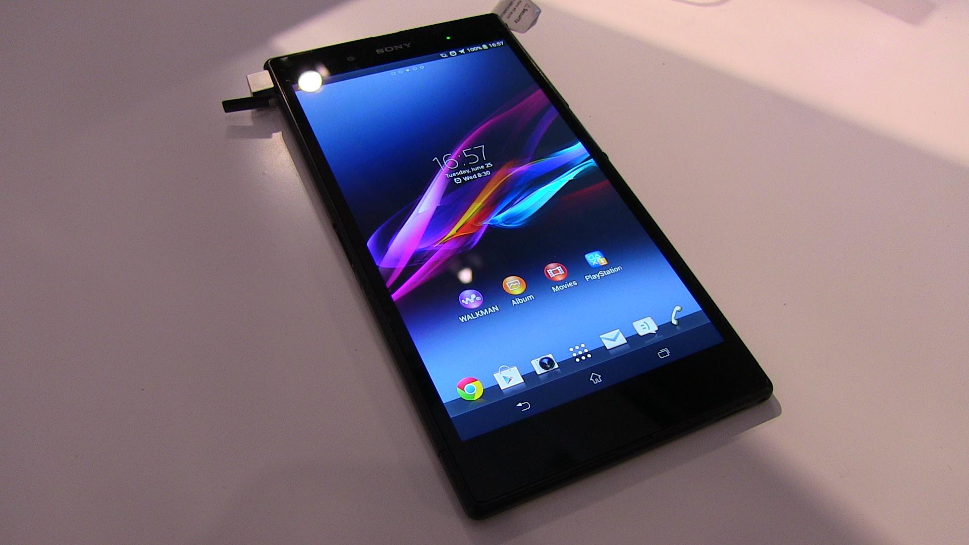 Sony Xperia Z Ultra: Funktionsweise des Stylus im Video erklärt