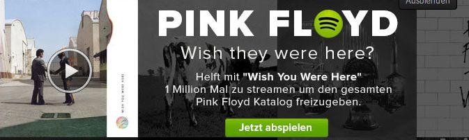 Pfiffiger Deal zwischen Pink Floyd und Spotify könnte alle Songs der Band freischalten