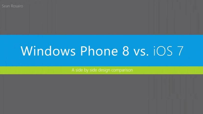 iOS 7 vs Windows Phone 8 – Nutzt Jony Ive heimlich ein Nokia Lumia?