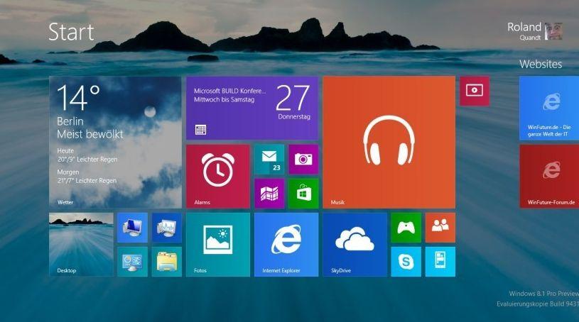 Microsoft: Windows 8.1 Preview Neuerungen im ausführlichen Video