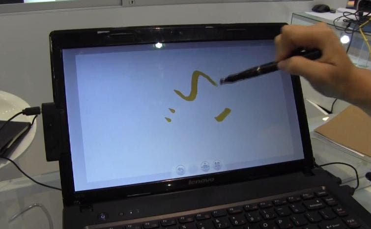 Computex: YiFang Screen macht aus jedem Notebook ein Touch-Device