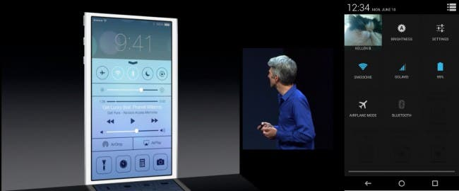 a vs i1 650x270 WWDC 2013   iOS 7 = Return of the Copycats?