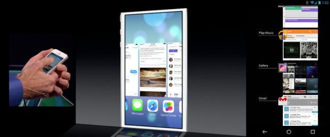 a vs i8 650x270 WWDC 2013   iOS 7 = Return of the Copycats?