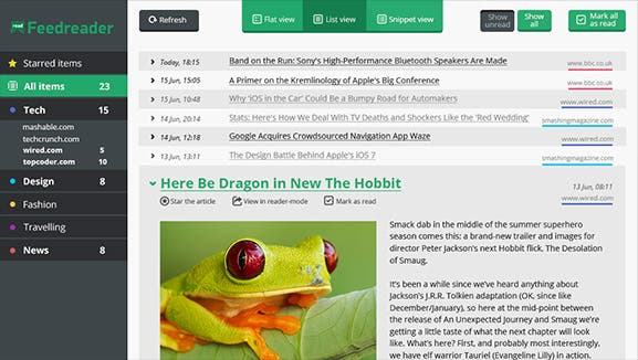 feedreader Top 5 Alternativen für den Google Reader