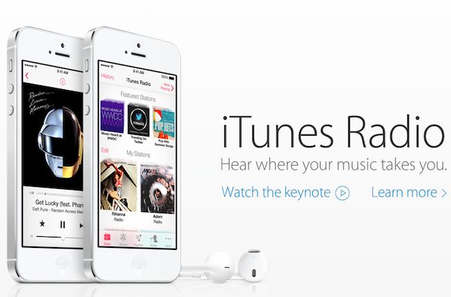 Apple iTunes Radio im Vergleich mit Spotify und Google Music All Access