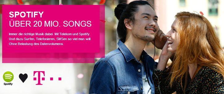 Telekom und Spotify Musik-Flatrate: Kundendienst hui, Tarif pfui?